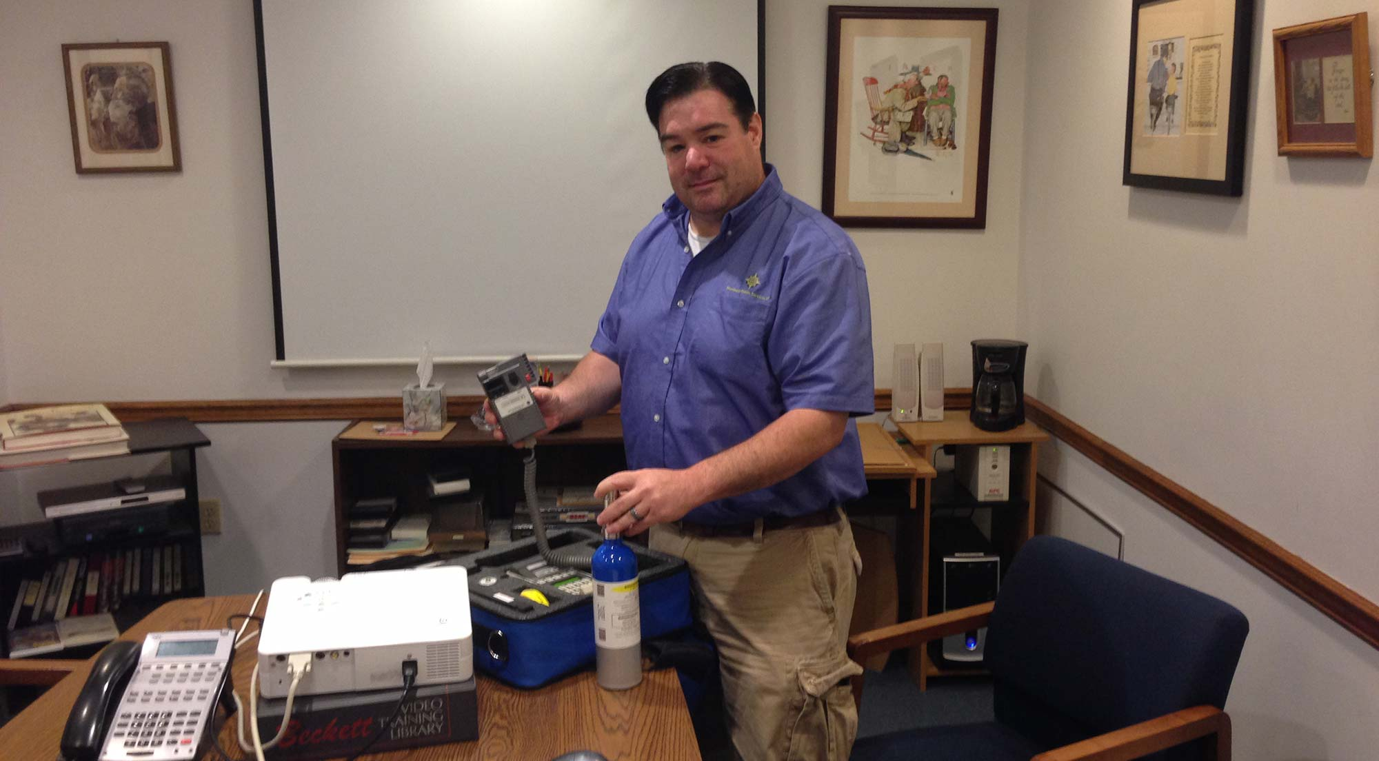 Keith R. Gosselin is a Certified Calibration Technician on the RBT IV