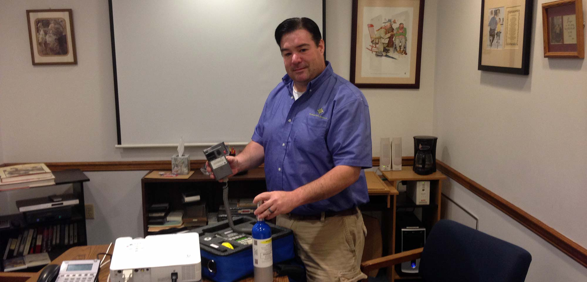 Keith R. Goselin is a Certified Calibration Technician on the RBT IV